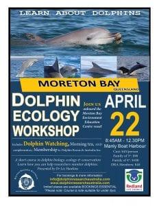 Moreton Bay Dolphin Ecology Workshop poster 2017 LR