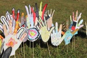 festival hands