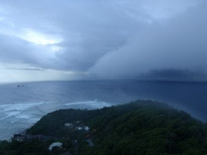 Storm over Byron Bay